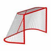 Сетка хоккей Д-2,8мм, яч. 40x40, цвет белый-зеленый. Для ворот  1.25x1.85x1.30м. ПП