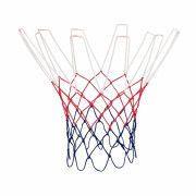 Сетка баскетбольная, D-3,1 мм, триколор, цветная