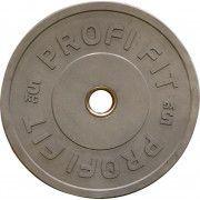Диск для штанги каучуковый, цветной PROFI-FIT D-51,  5 кг