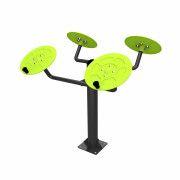 UTFL-1002 Тренажер уличный ZSO, для мышц плечевого пояса (большие тарелки)