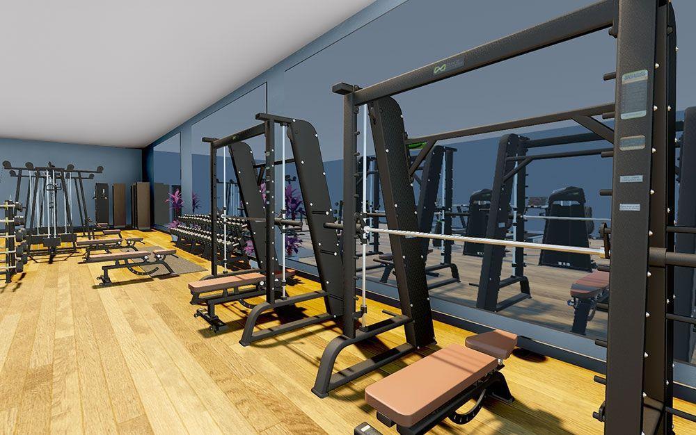 Оборудование для фитнес клубов