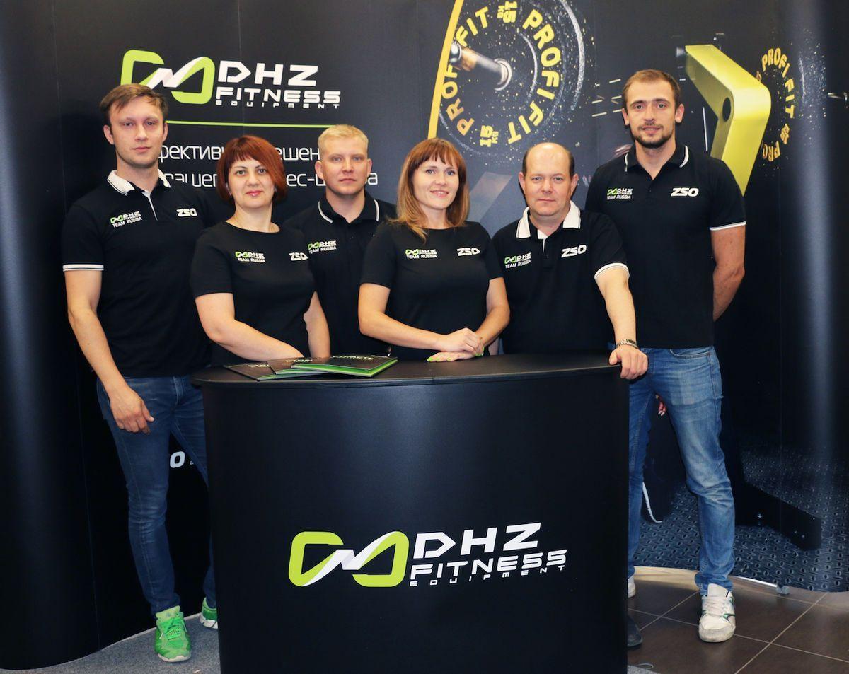 Команда DHZ Fitness Russia примет участие в самых престижных отраслевых выставках 2019 года
